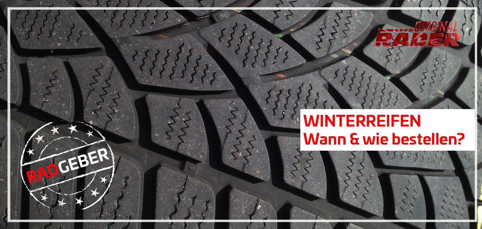 Winterräder Ratgeber: Wann muss man neue oder gebrauchte Winterreifen kaufen?