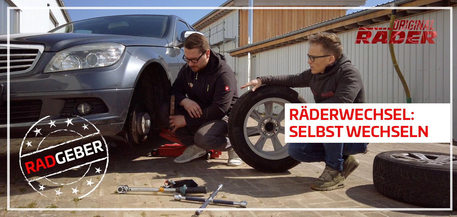 Reifenwechsel einfach und sicher selbst durchführen
