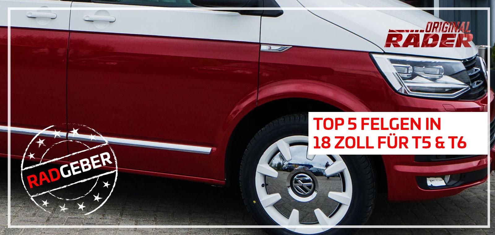 VW T5 T6 Felgen